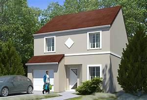Plan Maison A Etage : plan maison individuelle 4 chambres 99b habitat concept ~ Melissatoandfro.com Idées de Décoration