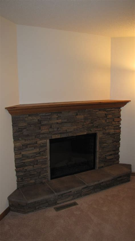 stack fireplace fireplace redesign creative faux panels