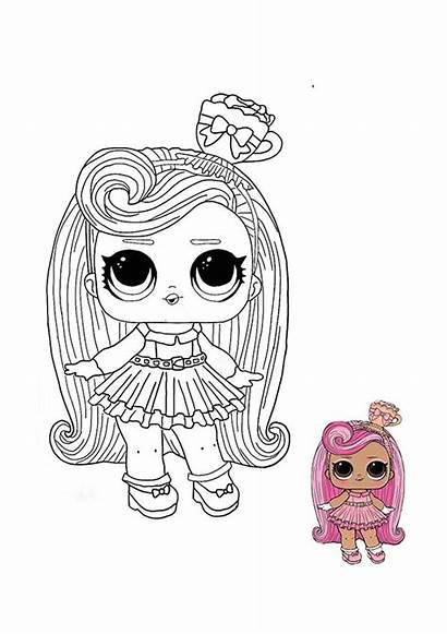 Lol Coloring Pages Surprise Omg Dolls Doll