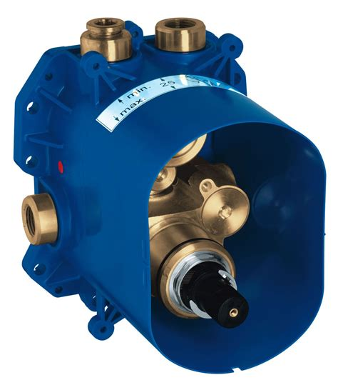 grohe allure thermostat bath shower mixer valve