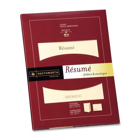 Resume Folder by Quickship