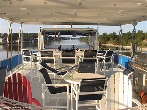 Houseboat New Orleans by New Orleans Custom Houseboat In Vendita Barca A Motore