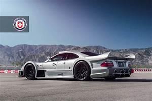 Stunning Mercedes Benz CLK GTR with Satin Black HRE Wheels