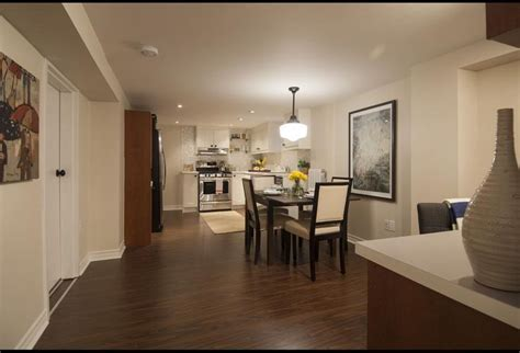 Open Concept Basement Kitchen and Dining Area   Income
