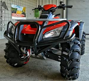 Honda Rincon 680 Atv   Itp Mud Lite Tires  U0026 Ss Wheels