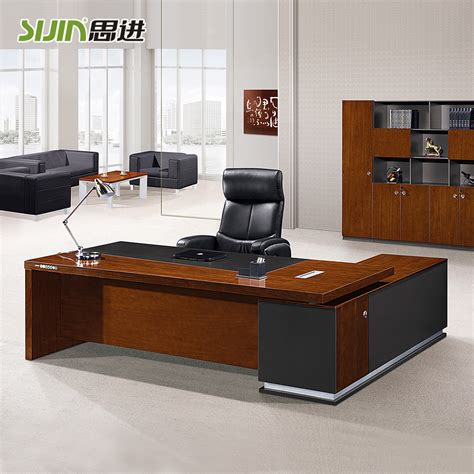 luxury wooden office desk otobi furniture in bangladesh