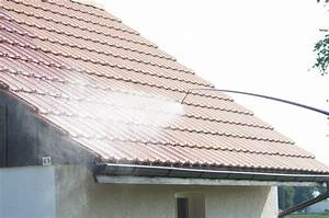 Pulverisateur Toiture Castorama : le d moussage par pulv risation pulv risateur de toiture ~ Edinachiropracticcenter.com Idées de Décoration