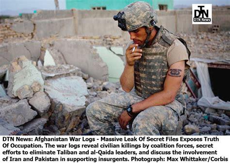 Defense War News Updates Dtn News Afghanistan War Logs