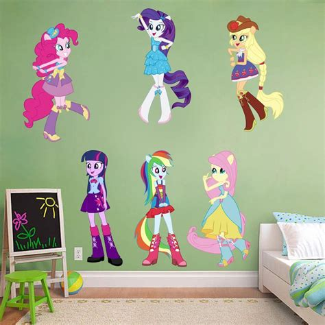 wall stickers home decor my pony equestria decal removable wall