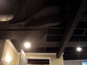 Ceiling lights went out : Decorations painting the ceilings black flight of a