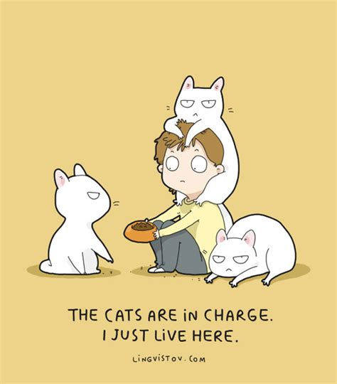 fun animal comics  russian artist duo lingvistov