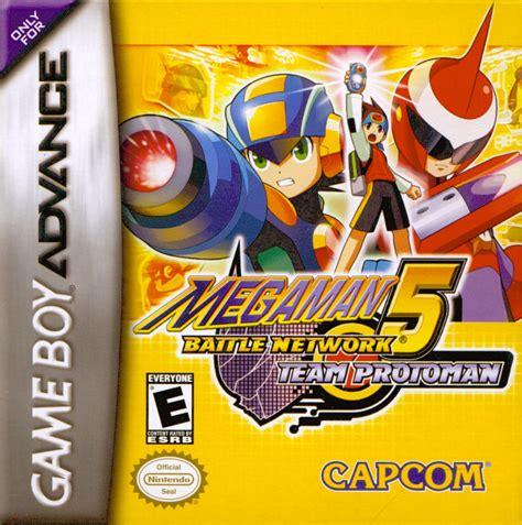 Mega Man Battle Network 5 Team Protoman For Game Boy