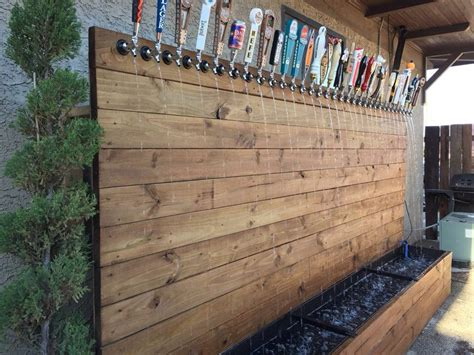 Water Fountain Of Taps W Craft Beer Handles. Could Make