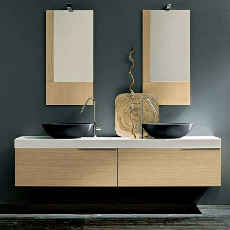 meuble de salle de bain en ch 234 ne naturelle birex facto 190x36