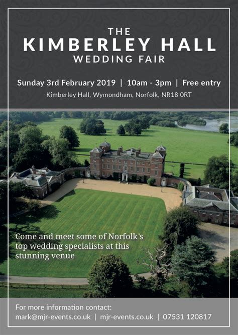 kimberley hall wedding fair  mjr