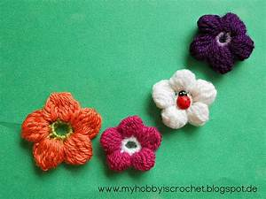 Ravelry  5 Petals Cluster Flower Pattern By