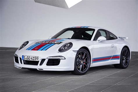Porsche Car : Porsche 911 Carrera S Martini Racing Edition