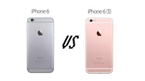 compare iphone 6 and 6s iphone 6 vs iphone 6s comparison preview review pc advisor