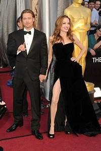 EGO - Angelina Jolie vai com Pitt ao Oscar e usa vestido ...
