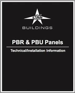 Find It At        Starbuildings Com  Pdfs  Manuals  Pbr