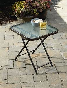 Garden Oasis Harrison Matching Folding Side Table *Limited ...