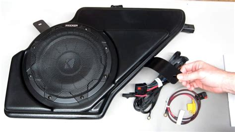 Kickers Spark kicker factory fit audio upgrade for 2011 and newer chevy