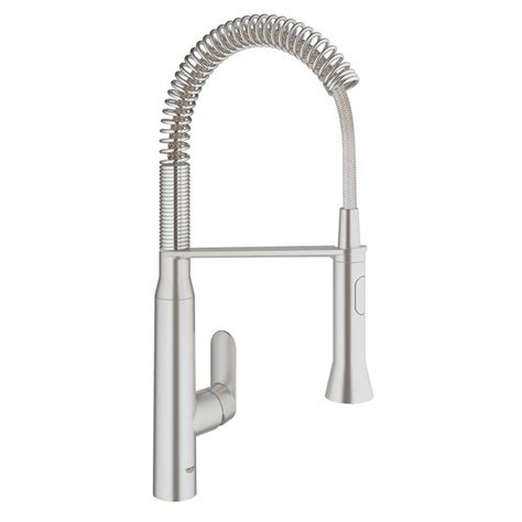 grohe faucets kitchen grohe k7 medium semi pro single handle standard kitchen