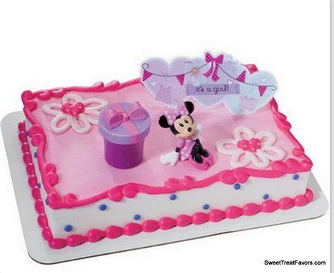 Minnie Mouse Cake Topper Decoration Supplies Birthday It's