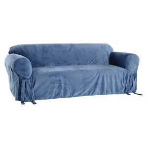 microfiber velvet sofa slipcover target