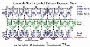 441 Best Images About Couture Crocodile Stitch Crochet On