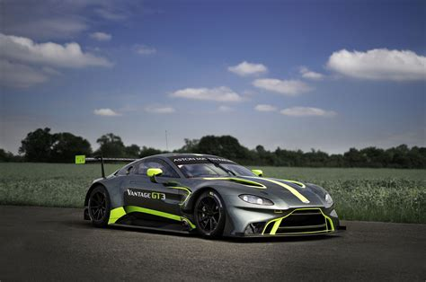 Martin Gt3 by Aston Martin Reveals New Vantage Gt3 Automobile Magazine