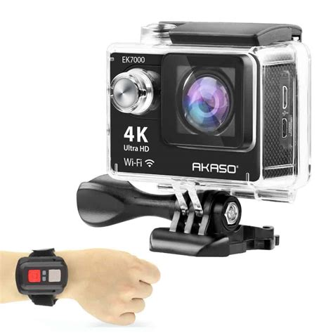 akaso introduces wifi sports action camera  india pcquest