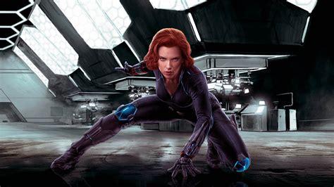 Scarlett Johansson Black Widow Avengers Age Of Ultron ...