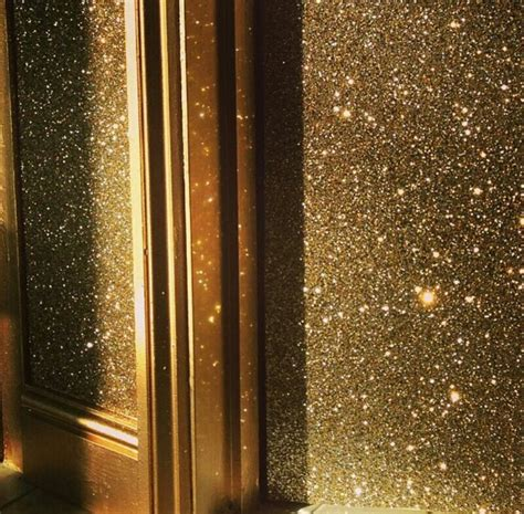 glitter wall  gold trim   home sweet home