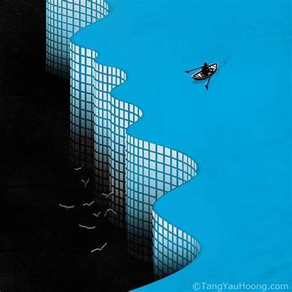 Tang Hoong Yau Space Negative Surrealism Illusion