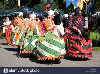 England Herstmonceux Mummers Medieval Troupe Sussex East