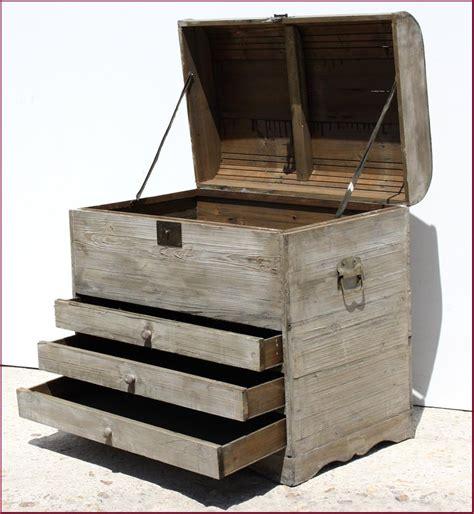 coffre a jouet grand modele grand coffre grande en bois avec tiroir rangement a bouteille ou a jouet ebay