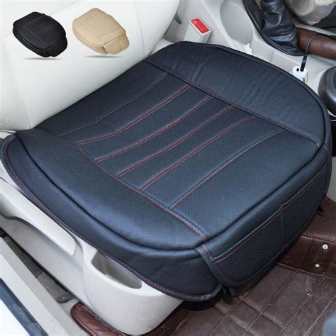 Car Upholstery Cover by Auto Black Universal Car Pu Leather Seatpad Car Seat Cover