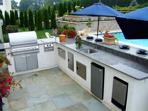 designs for outdoor kitchens creative outdoor kitchen design ideas 6677