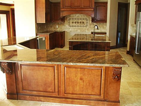 granite kitchen countertops mediterranean kitchen