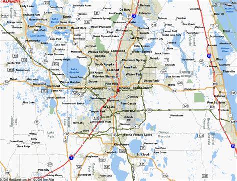 map  orlando florida  surrounding towns international