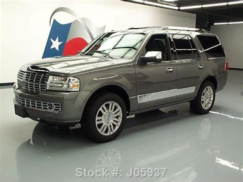 how to fix cars 2011 lincoln navigator navigation system sell used 2011 lincoln navigator leather nav rear cam 20 s 20k mi texas direct auto in stafford