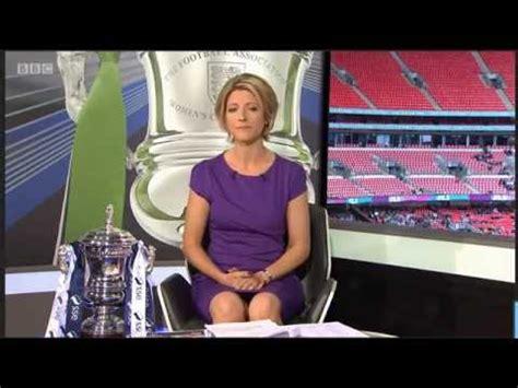Jacqui Oatley | Womens FA Cup Final | 140516 | Legs ...