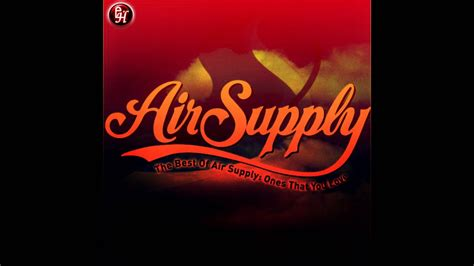 out of nothing at all air supply subtitulada en espa 241 ol