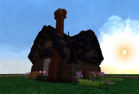 cute rustic farm house minecraft project
