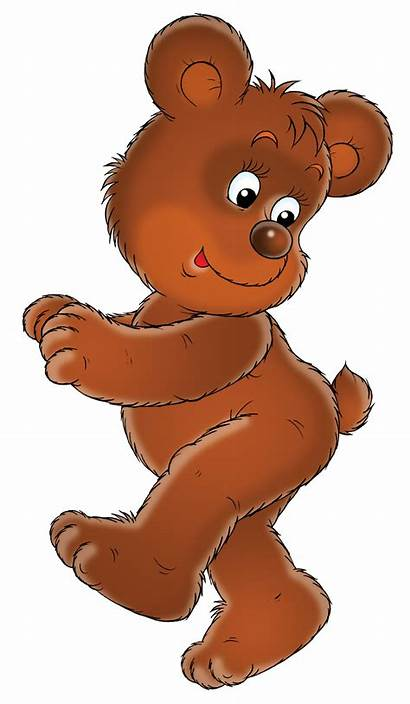 Teddy Bear Cartoon Bears Cub Clipart Rhymes