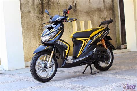 Modifikasi Mio Sporty Hitam by Modifikasi Mio Fino Sporty Thecitycyclist