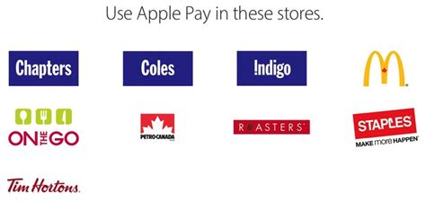 Apple Canada Lists Stores, Apps Where Apple Pay Works