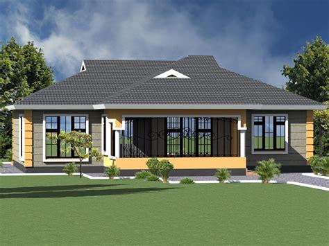 bedroom bungalow house plan design hpd consult
