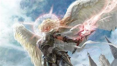 Serenity Angel Magic Gathering Wallpapers Backgrounds Abyss